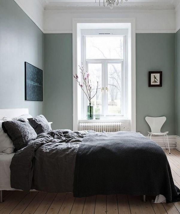 Grey And Light Green Bedroom Ideas