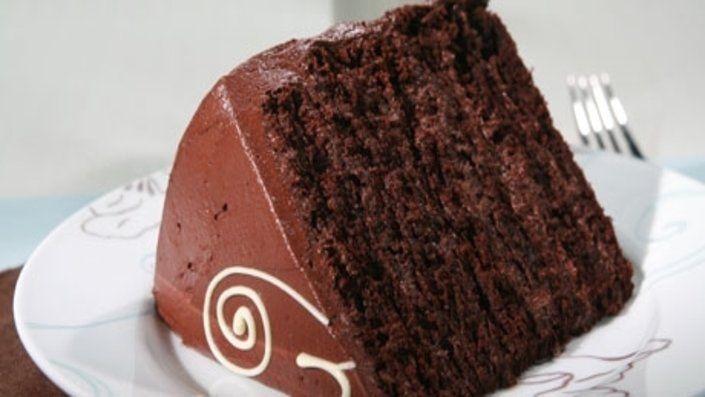Anna Olsen's Chocolate Blackout Cake