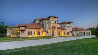Mediterranean House Plan with the Ultimate Media Room - 36527TX thumb - 01
