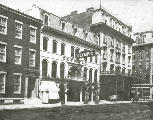 Olympic Theater, 107 South Broadway. (1874)