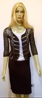 Vicky Modas e Acessórios : Promoção de Aniversário... Blusa de Crochê