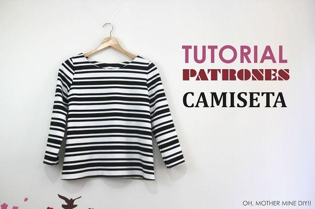 DIY Tutorial y patrones: Camiseta Básica Mujer