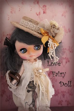 [§§ ~ Love fairy Doll ~ §§] † custom Middie Blythe †  Find her here:   #blythe #blythedolls #kawaii #cute #rinkya #japan #collectibles #middieblythe #customblythe