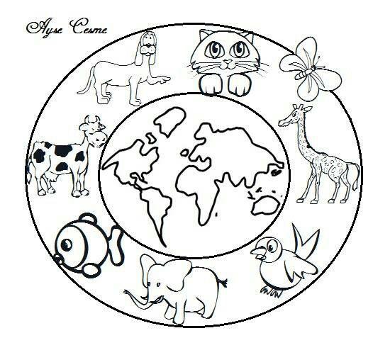 Kalıplar Ayşe çeşme öğretmenimize Aittir Hayvanları Koruma Günü