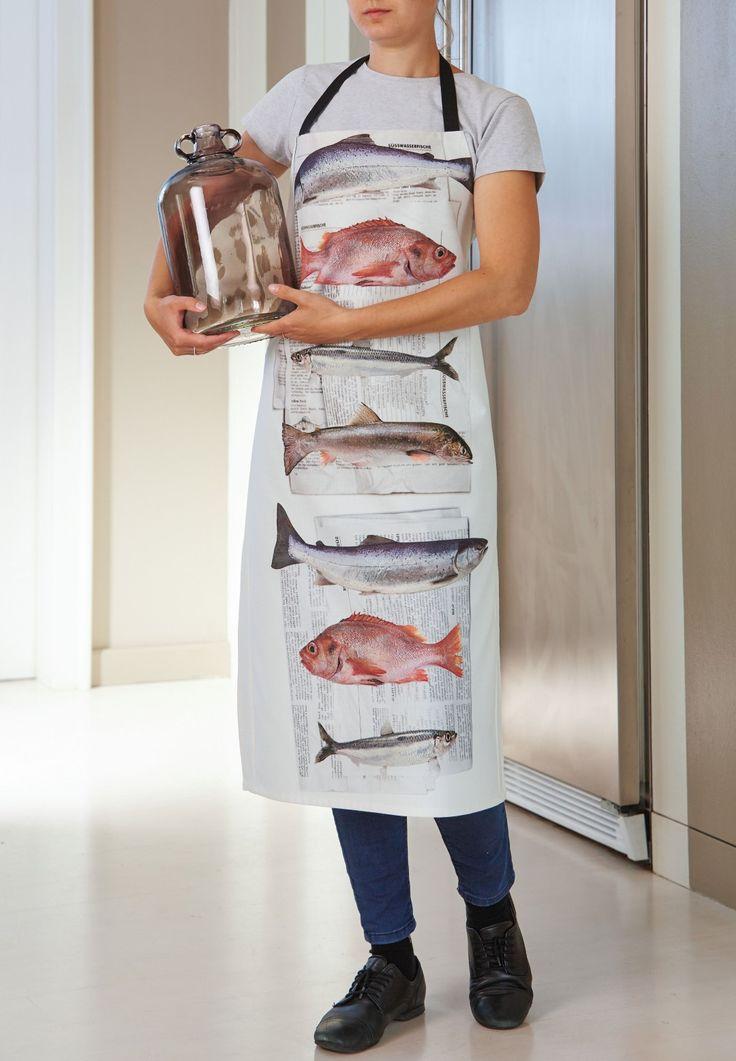 Küchenschürze, frischer Fisch von Apelt, Artikel 3055
