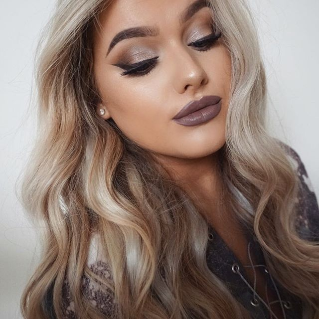 This Make up & hair tutorial will be up tonight at 7pm! Cool toned autumnal glam…