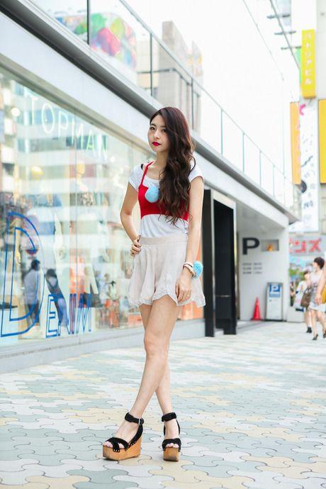 スタイルの良さが引き立つStreet Fashion, Harajuku Styl Street, East Asia, Street Snap, Snap Fashion, Asia Maine, Street Style, Abc Street, Src Fashionsnap
