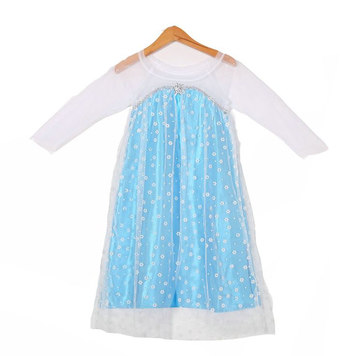 >> Click to Buy << Factory Sale Summer Anna Elsa Satin Tulle Dress for Girls Age 4-12 Years Queen Snow Cosplay Costume Children Clothing Blue Green #Affiliate