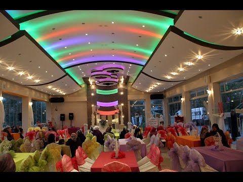 Düğün Salonu Dekorasyonu Gergi Tavan Modelleri