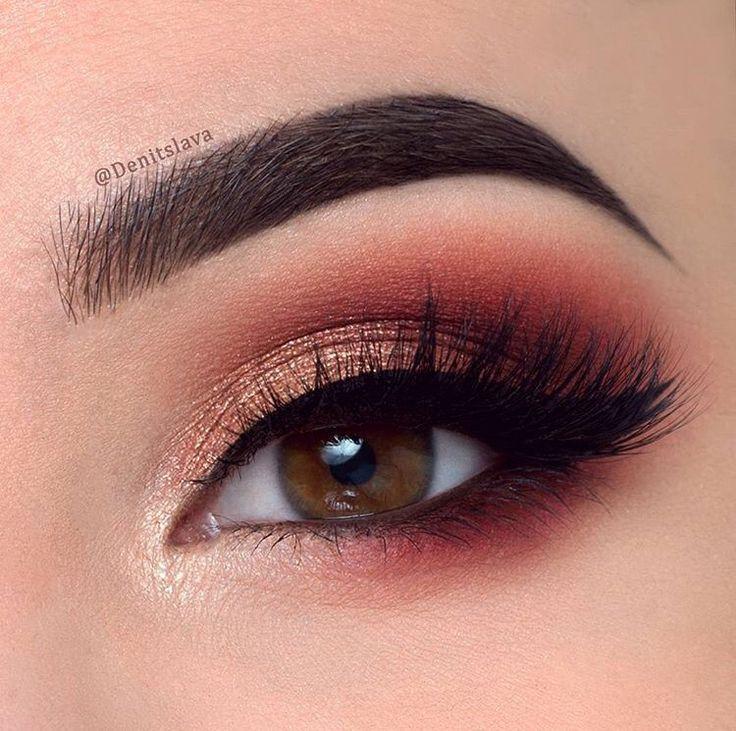Картинки макияжей для карих глаз
