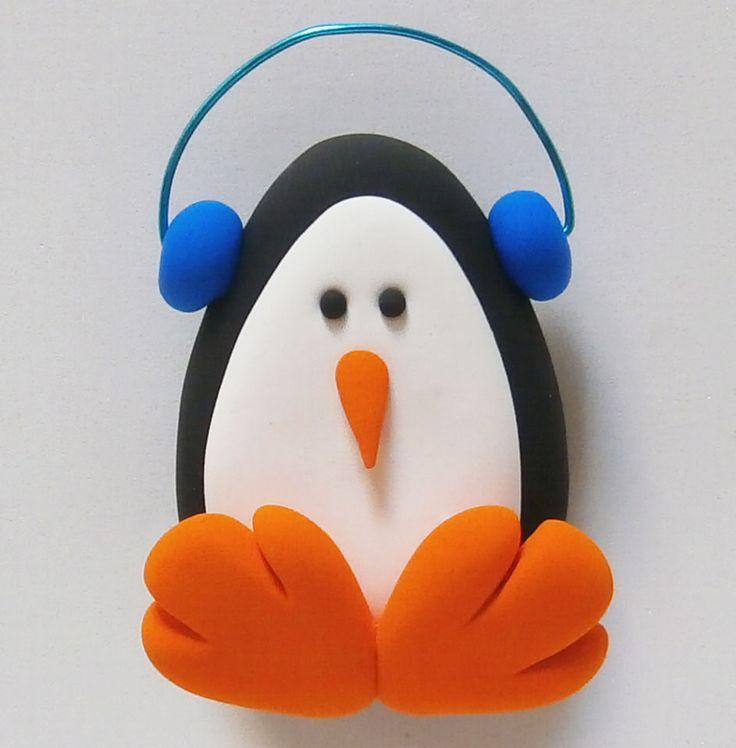 Pinguino de jumping clay