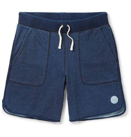 Austin Wide-Leg Loopback Cotton-Jersey Shorts | MR PORTER