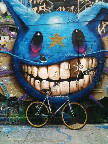 Street art is sooo cool
