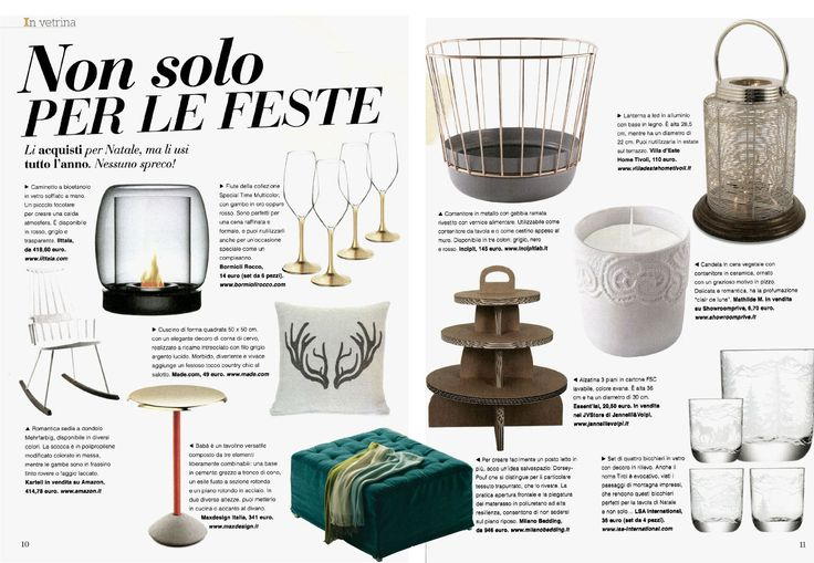 This month the Italian magazine Vero Casa suggests some useful products for #Christmastime and year round. For example, the Dorsey #Pouf, design Sabina Sallemi, which can accommodate friends and family at every opportunity.