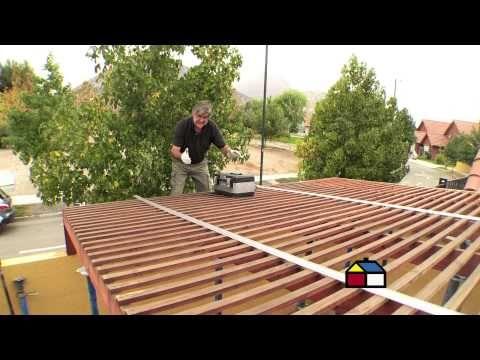 ¿Cómo instalar un techo de policarbonato? - YouTube