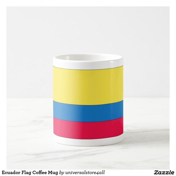Ecuador Flag Coffee Mug