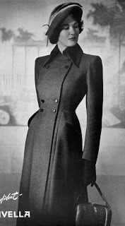 .História da Moda.: 1940: Militarismo, New Look e Carmen Miranda