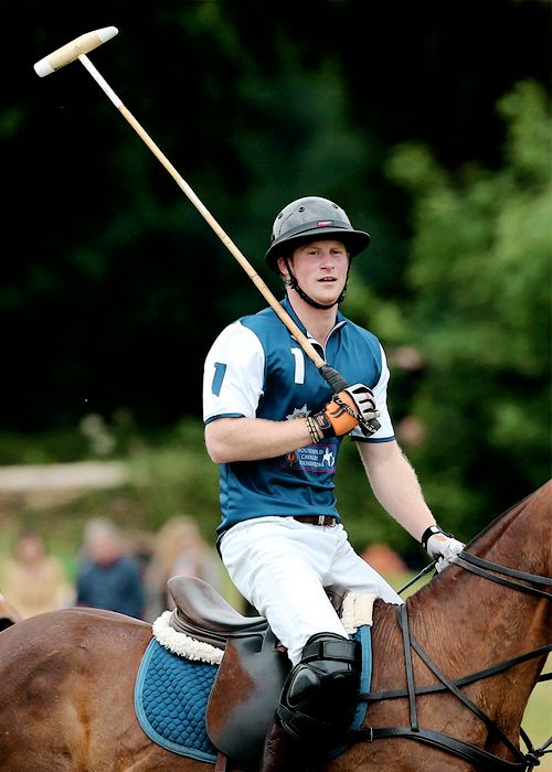ready4royalty:  Festival of Polo, Beaufort Polo Club, June 14, 2015-Prince Harry
