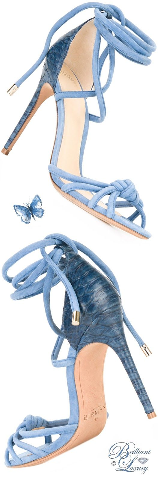 Brilliant Luxury by Emmy DE ♦ Alexandre Birman 'Layla' Sandals