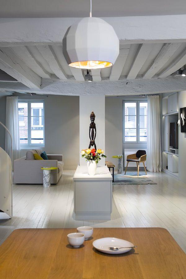 Un Petit Appartement Parisien Bien Organisé