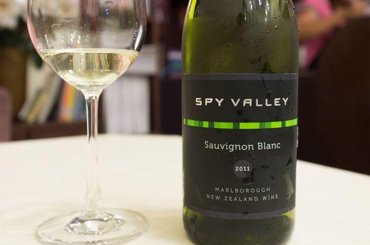 Spy Valley Sauvignon Blanc - A terrific entry level Sauv!  #wine #winelovers #whitewine #sauvignonblanc