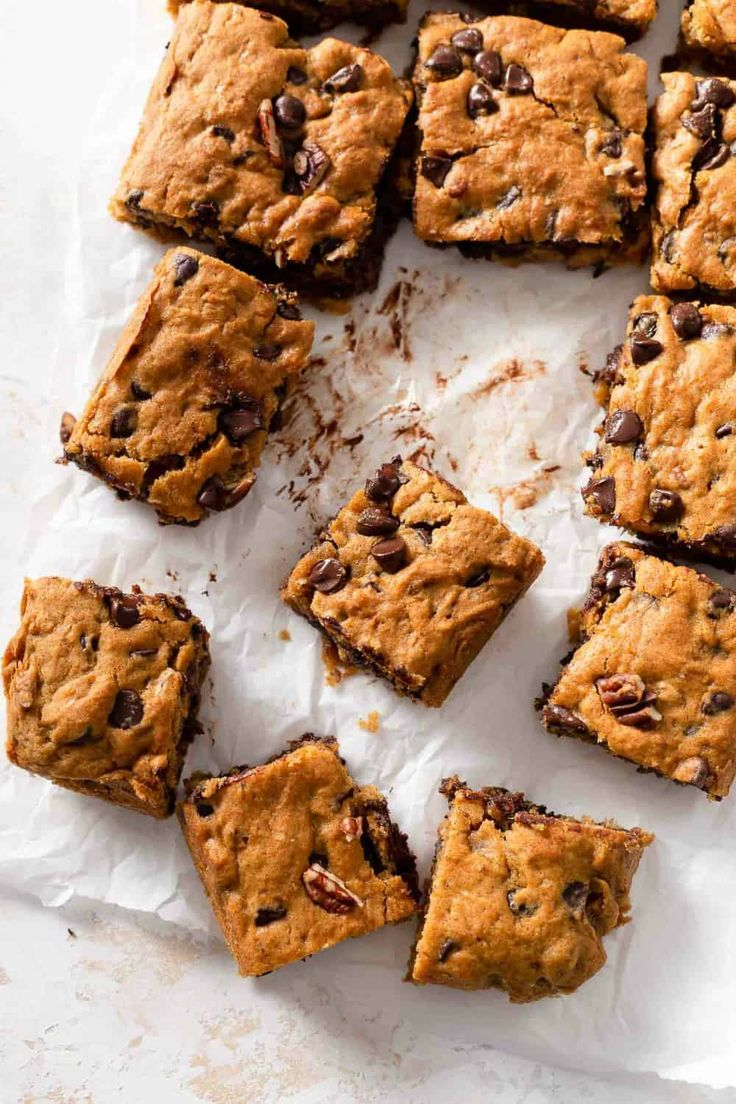 Pumpkin Blondies Are The Perfect Balance Of Chewy And Cakey