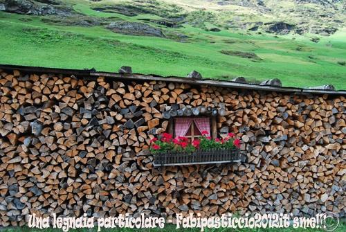 A wood storage Pfelders Passeiertal