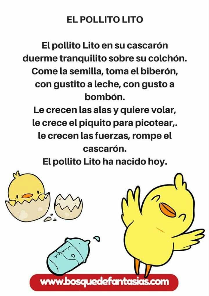Poema Por El Dia Del Campesino Para Niños De Inicial Pin En Educacion