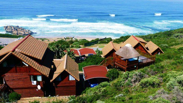 Brenton on Sea Chalets self-catering log cabins overlooking the sea Knysna, Garden Route South Africa http://www.brentononseachalets.co.za