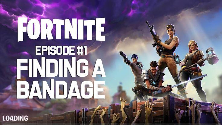 Fortnite IRL Episode 1 Finding Bandages Epic games