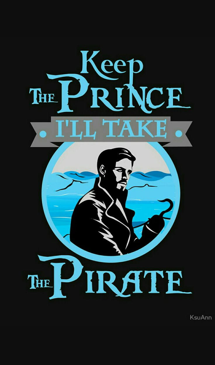 more like keep the prince i AM the pirate queen!!!