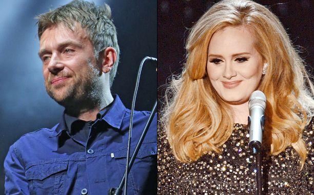 Adele hits back at Blur's Damon Albarn for calling her 'insecure'