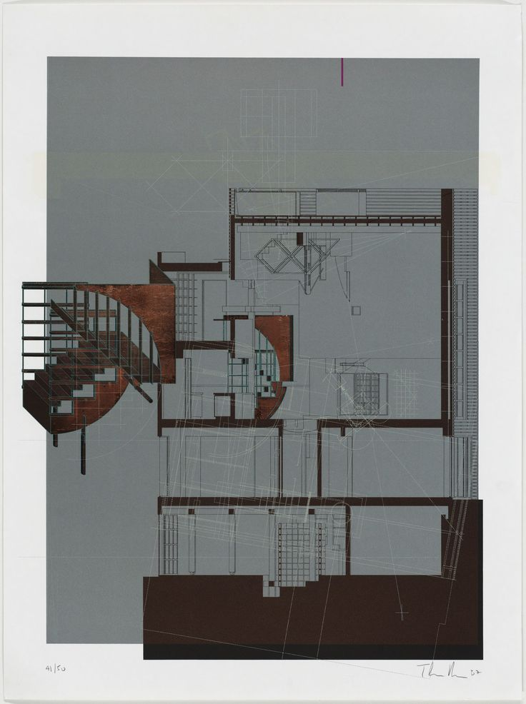 Thom Mayne, Andrew Zago. Sixth Street House project, Santa Monica, California, Sixth Street: Figure 6. 1987