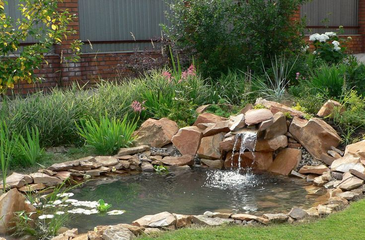 Pictures of Small Garden Ponds and Waterfalls