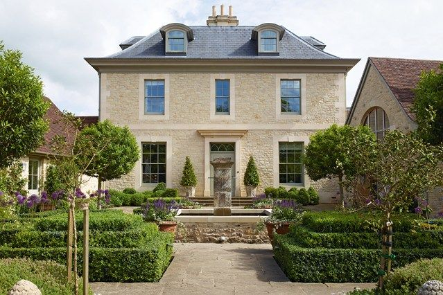 New-Build West Country Manor House - English Gardens - Design & Landscaping…