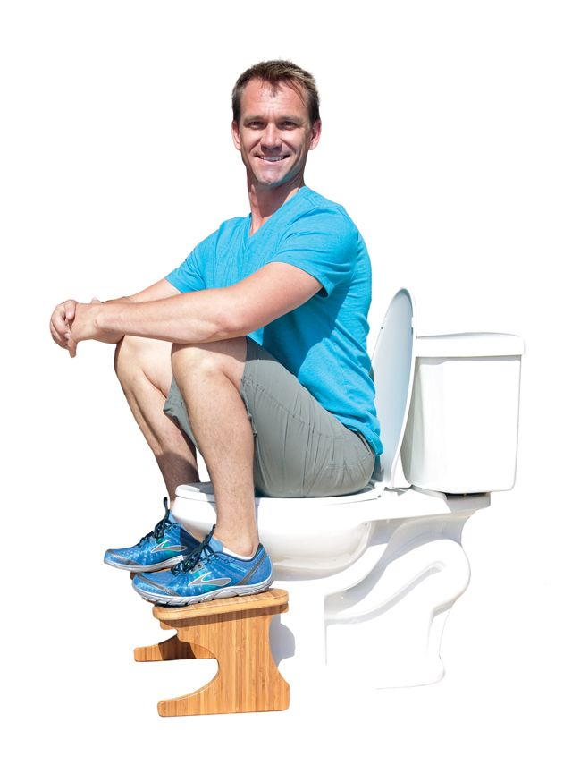 The Squatty Potty, A Toilet Step Stool Made For the 'Perfect Poop'. Who knew? Frankly, I'm just happy to poop. It's one of the few areas of my life where I have't gotten consumed by perfectionism.