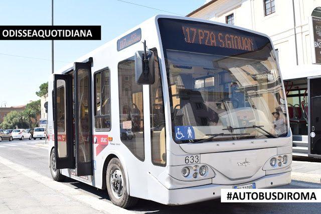 #AutobusDiRoma - Tecnobus Gulliver: dei 60 minibus elettrici ne è rimasto in circolazione solo uno!