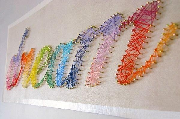 string art! so simple
