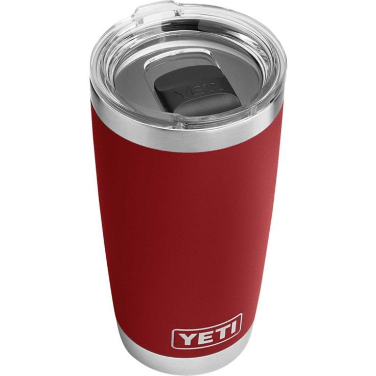 Yeti 20 oz. Rambler Tumbler with MagSlider Lid, Brick Red