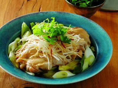 ねぎ鶏 Negi tori KNR 2015/1/29 best dish with green onions by Kobayashi Masami