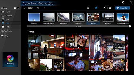MediaStory - Get started | CyberLink