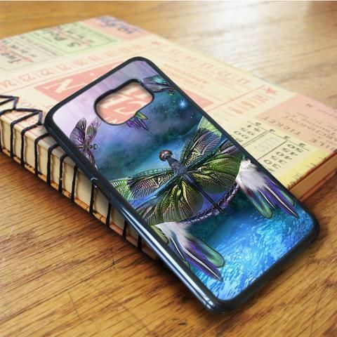Dream Dragonfly Dream Samsung Galaxy S6 Edge Case