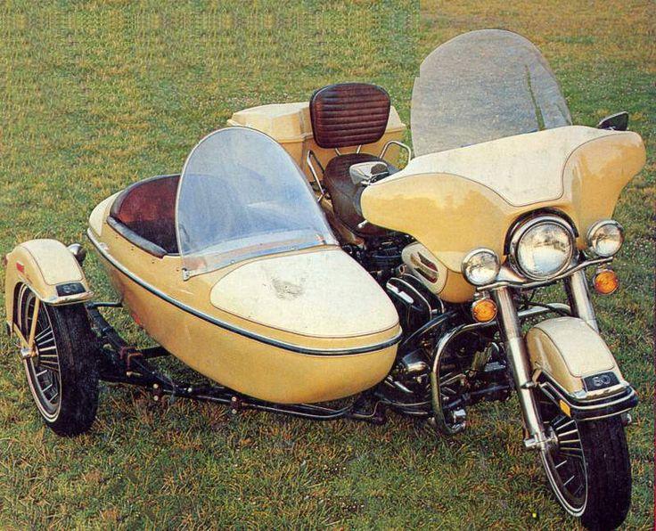 Harley Davidson CLE Classic Sidecar