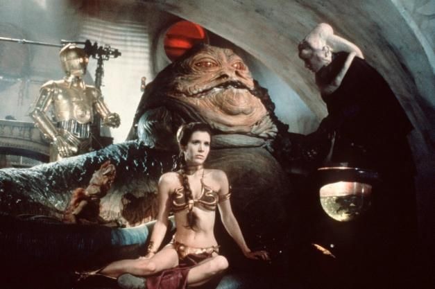 Carrie Fisher dies at 60 on Tuesday, December 27th 2016: actor and acclaimed writer best known as Princess Leia (Star Wars) Carrie Fisher's screen debut came in the 1975 movie Shampoo. Carrie Fisher with C-3PO and Jabba the Hutt on the set of Star Wars: Episode VI – Return of the Jedi in 1983 Carrie Fisher as Princess Leia Organa in 1977's Star Wars: Episode IV – A New Hope http://www.ronaldtintin.com/165.html #CarrieFisher #StarWars #ScienceFiction #Fantasy #DebbieReynolds #culture…