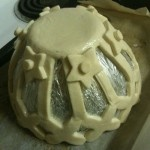 Salt dough bowl - what an easy way to make things with the kids (without the need for a kiln)