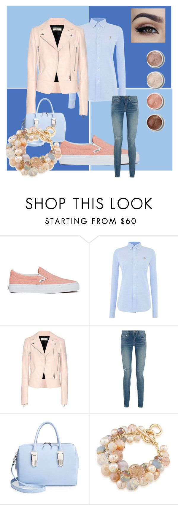 """""""Untitled #199"""" by frupapp on Polyvore featuring Vans, Polo Ralph Lauren, Balenciaga, Yves Saint Laurent, Opening Ceremony, Carolee and Terre Mère"""