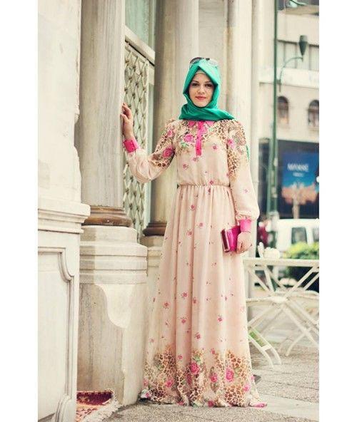 f88acefe1f5d6 2019 Tesettür Giyim Abiye Elbise Modelleri | 2019 Tesettür Abiye ...