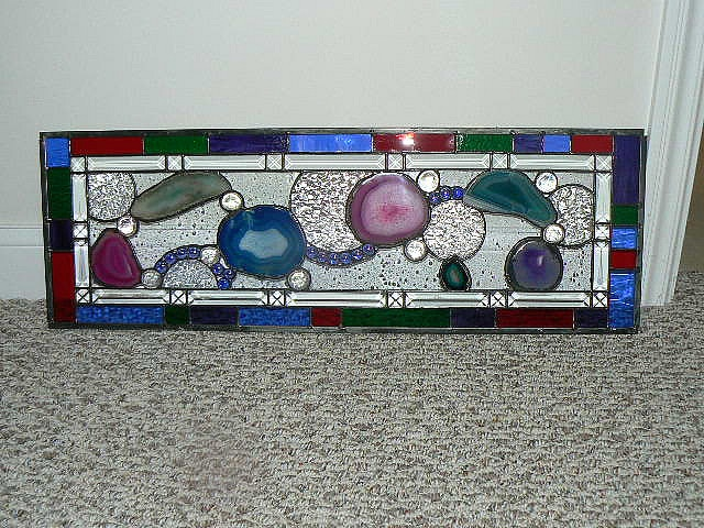Finished window STAINED GLASS