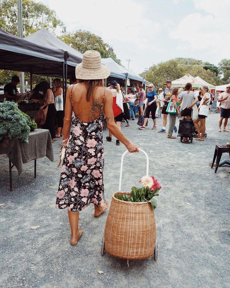 いいね!9,282件、コメント81件 ― SPELLさん(@spell_byronbay)のInstagramアカウント: 「Market days 🌿 our girl @anita_ghise fave time of the week stocking up on local produce ~ using the…」