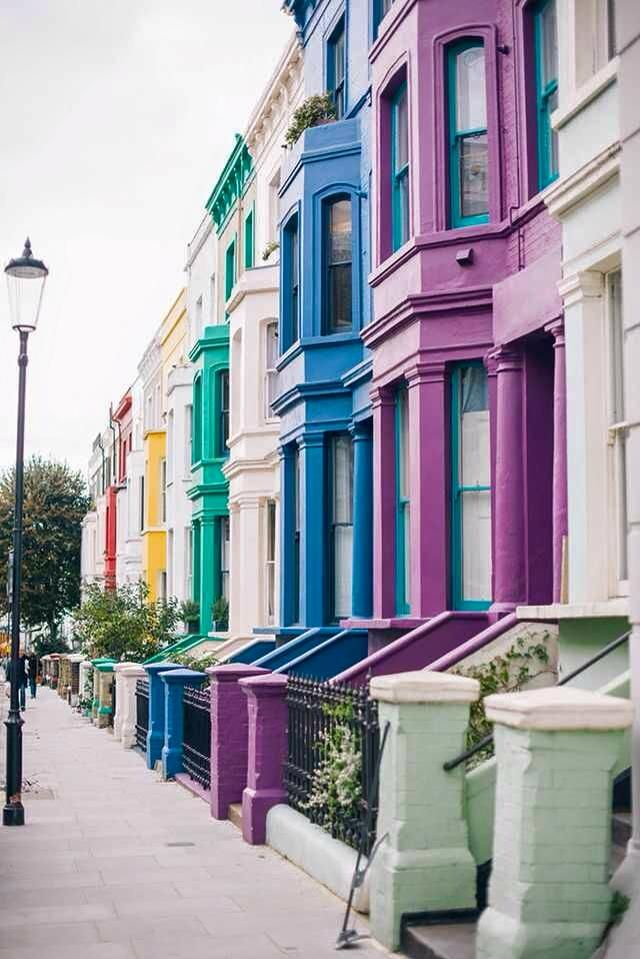| Ciate  Our kind of street! The amazing Notting Hill, London.